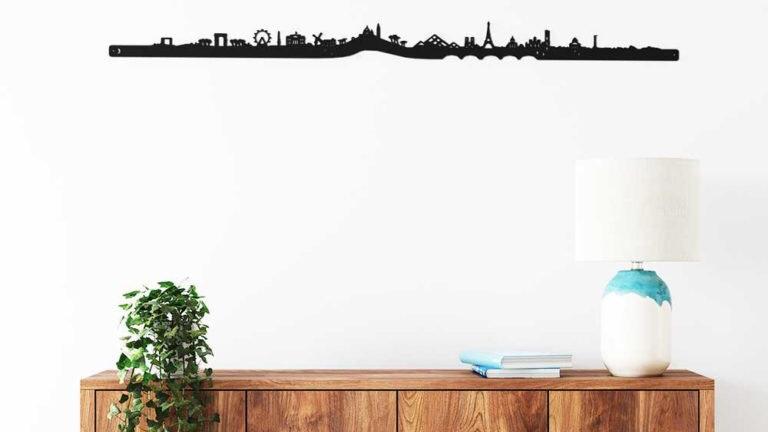 Skyline Paris silhouette 100cm