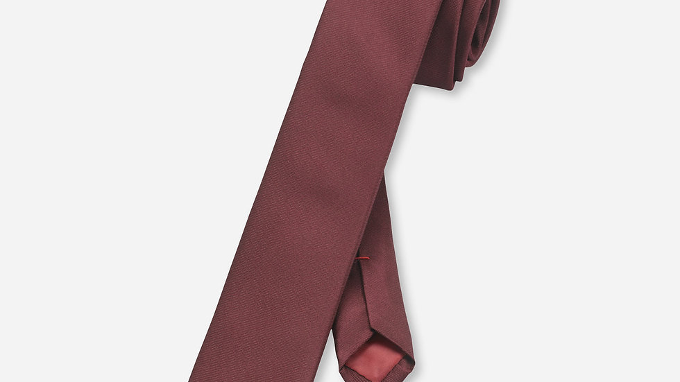 Cravate unie Bordeau