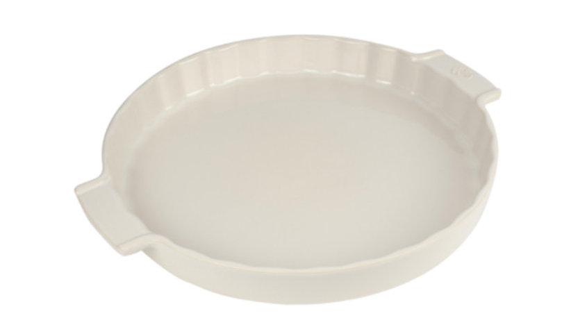 Plat à tarte-blanc