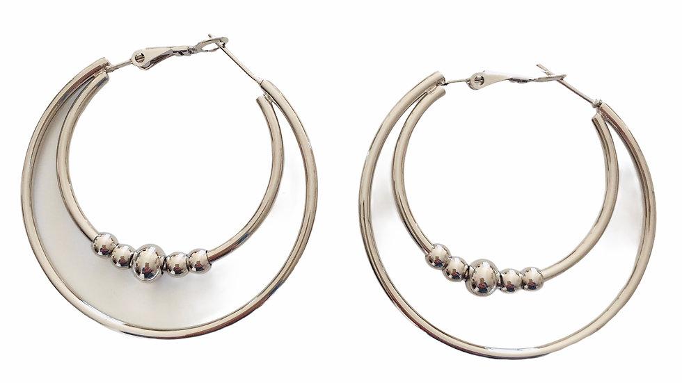Boucles d'oreilles sans nickel Ref 187