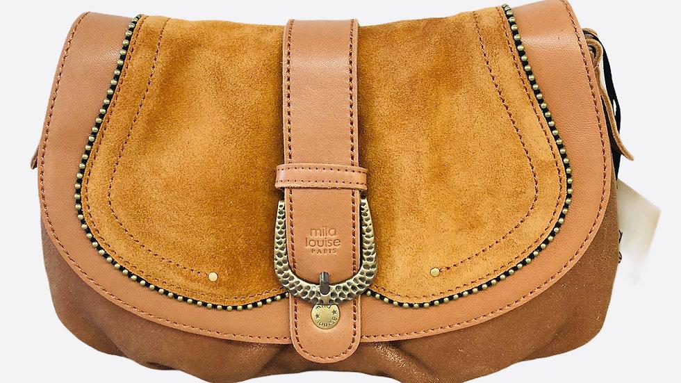 sac mila louise bandouliere  cuir Ref 383
