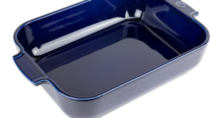 Plat rectangle moyen modele-bleu