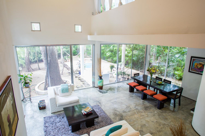Interior villa view!