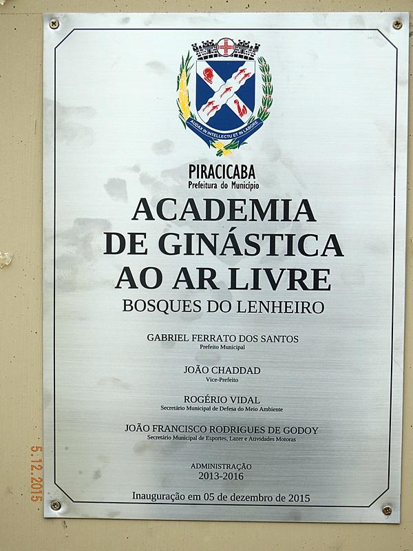 PARQUE MÁRIO DEDINI / B. LENHEIRO
