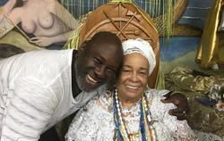 Lazzo Matumbi e Mãe Carmen do Gantois