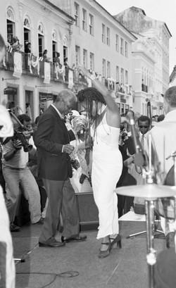 Kofi Annan e Márcia Short