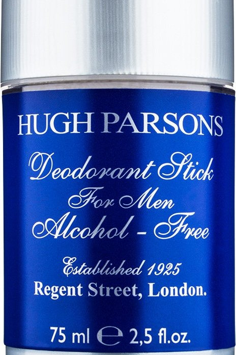 HUGH PARSONS - TRADITIONAL DEO STICK ALCOHOL FREE 75 ML