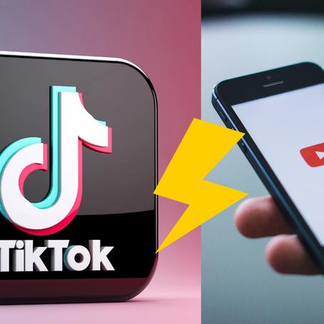 TIK TOK ultrapassa Youtube em tempo médio gasto no app