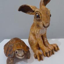 Jackie Yorke - The Hare and the Tortoise II.JPG