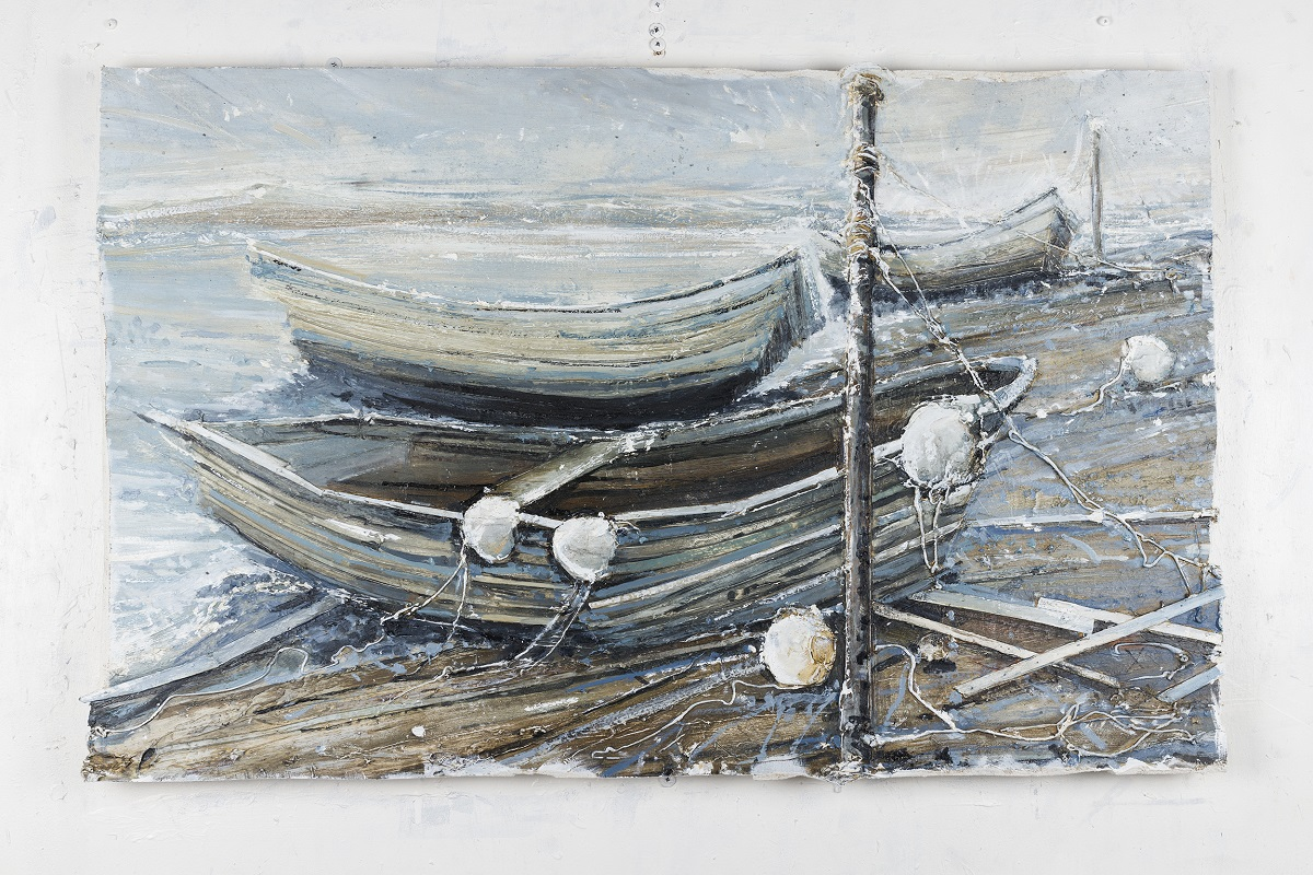 Three Rowers, Low Tide
