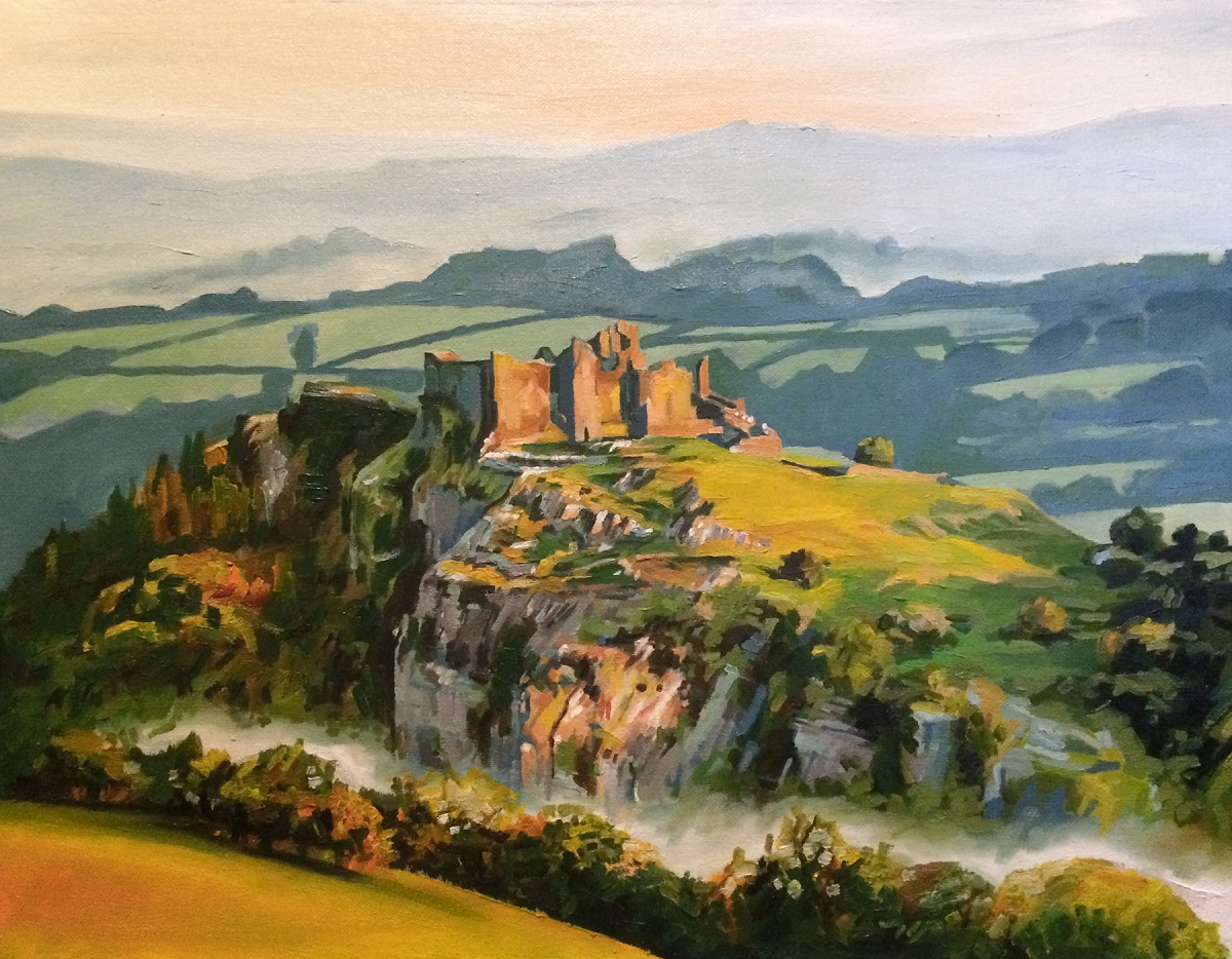 James Summerbell - Sunrise at Carreg Cennen
