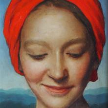 Zara Kuchi - Girl in a Red Turban.jpg