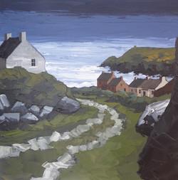 Peter Morgan - Coastal Cottages, Abereid