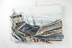 Theo Crutchley-Mack - Old Hull at Low Ti