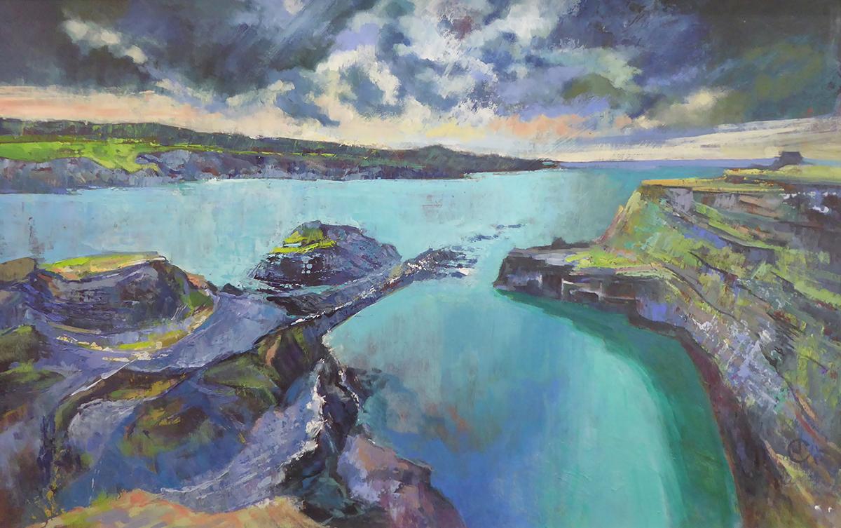Joanna Jones - Abereiddi Blue Lagoon