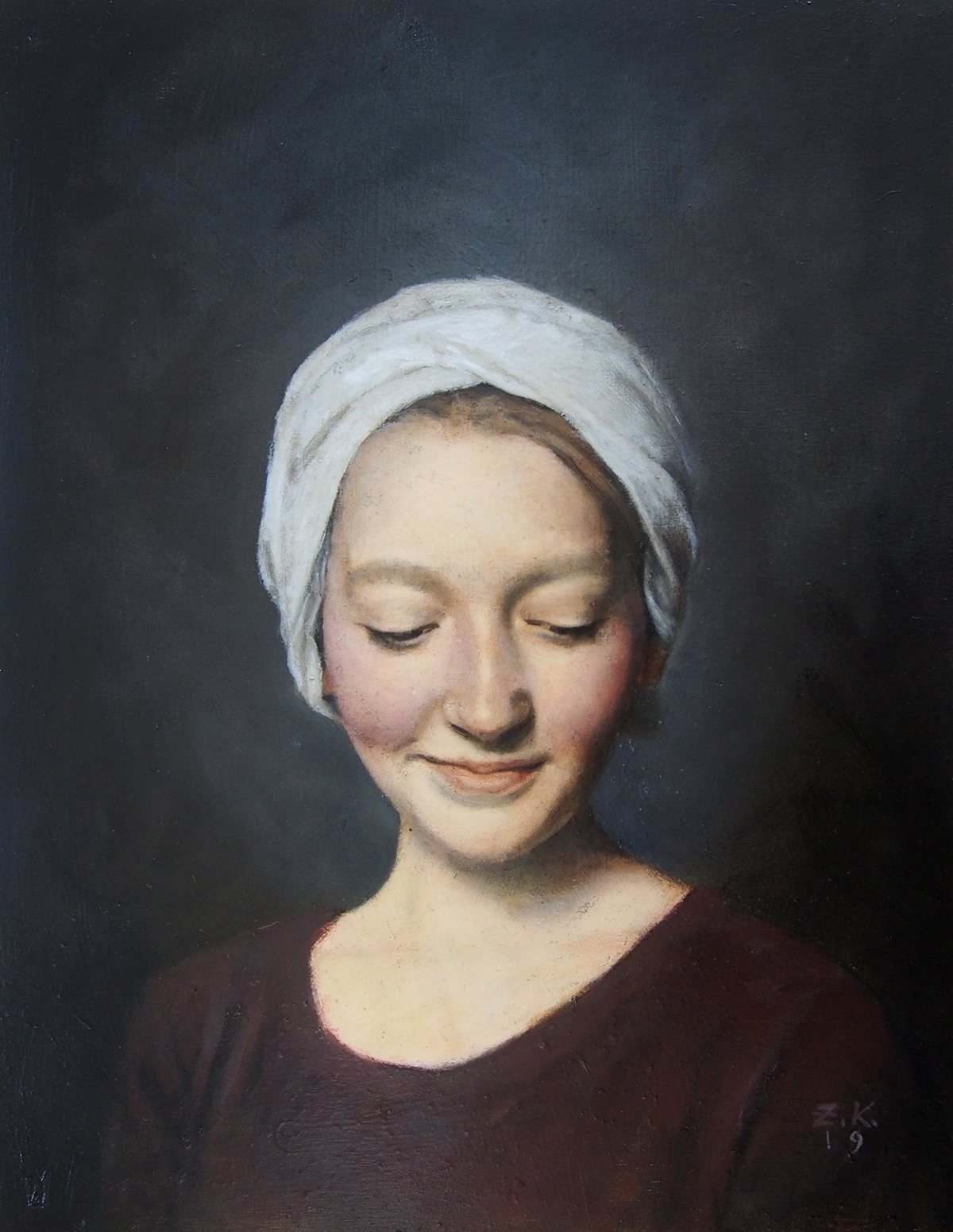 Zara Kuchi - Girl in a Turban XVII