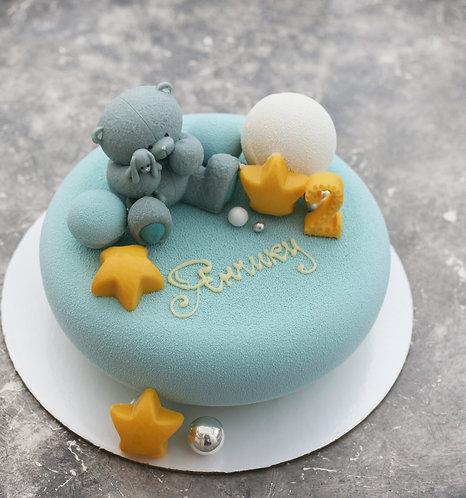 Детский торт на 6-8 человек