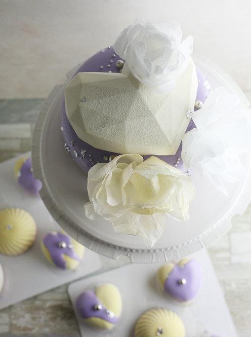 Набор на 25 человек: торт 1,5кг+12 пирожных