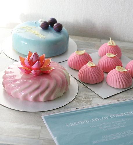 Муссовые торты: продвинутый уровень (индивидуальный МК)