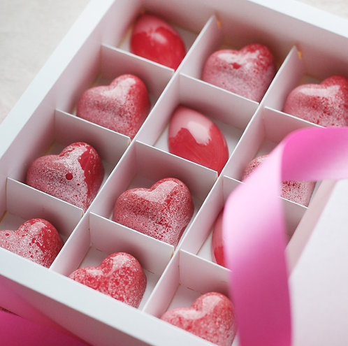 Набор шоколадных конфет, 16 шт (2 вкуса)