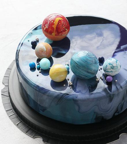Торт на 12-16 человек: Космос