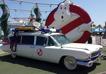 Ecto 1 Ghostbuster Location Barricade France