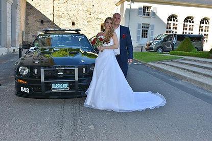Christelle et Manu pour leur mariage avec Barricade France