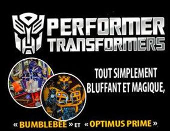 Client Entreprise Performer Transformers Barricade France