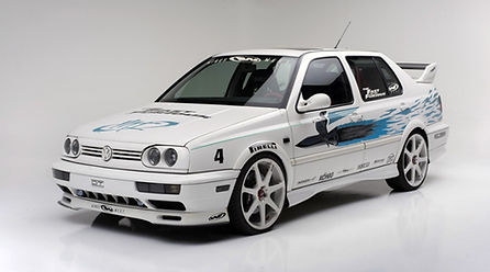 Volkwagen Jetta Fast and Furious Location Barricade France