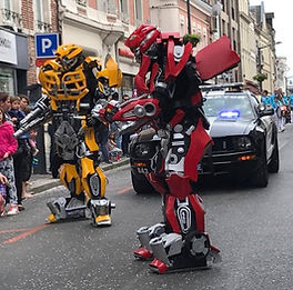 Barricade Parade Saint Quentin Transformers