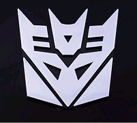 Logo Decepticon voiture vente