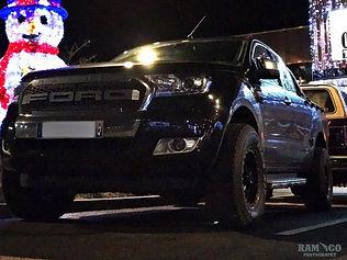 Un Ford raptor Le rencard de Barricade France au Oncle Scott's