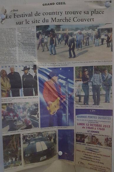 Article Grand Creil Barricade France
