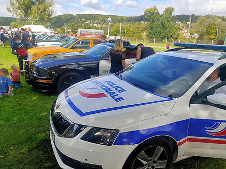 Barricade France et Police Nationale West Festival Mantes la Jolie 2020