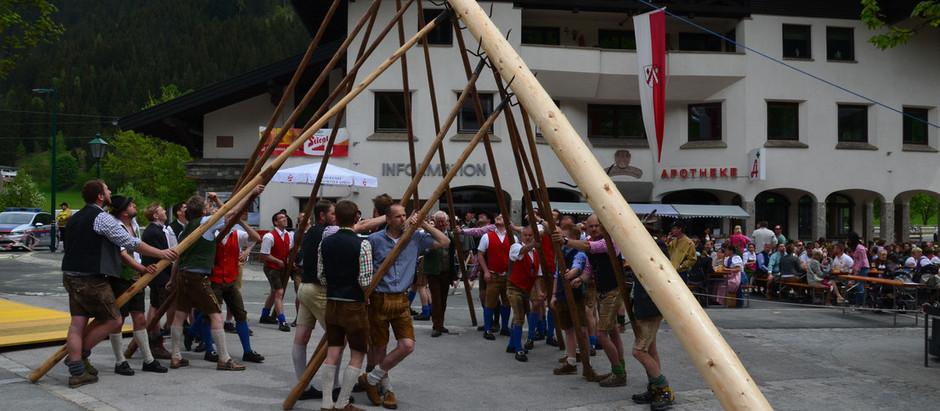 Maifest der Trachtenmusikkapelle Eben 2018