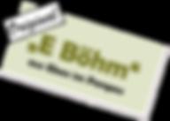 E-Böhm Logo freigestellt