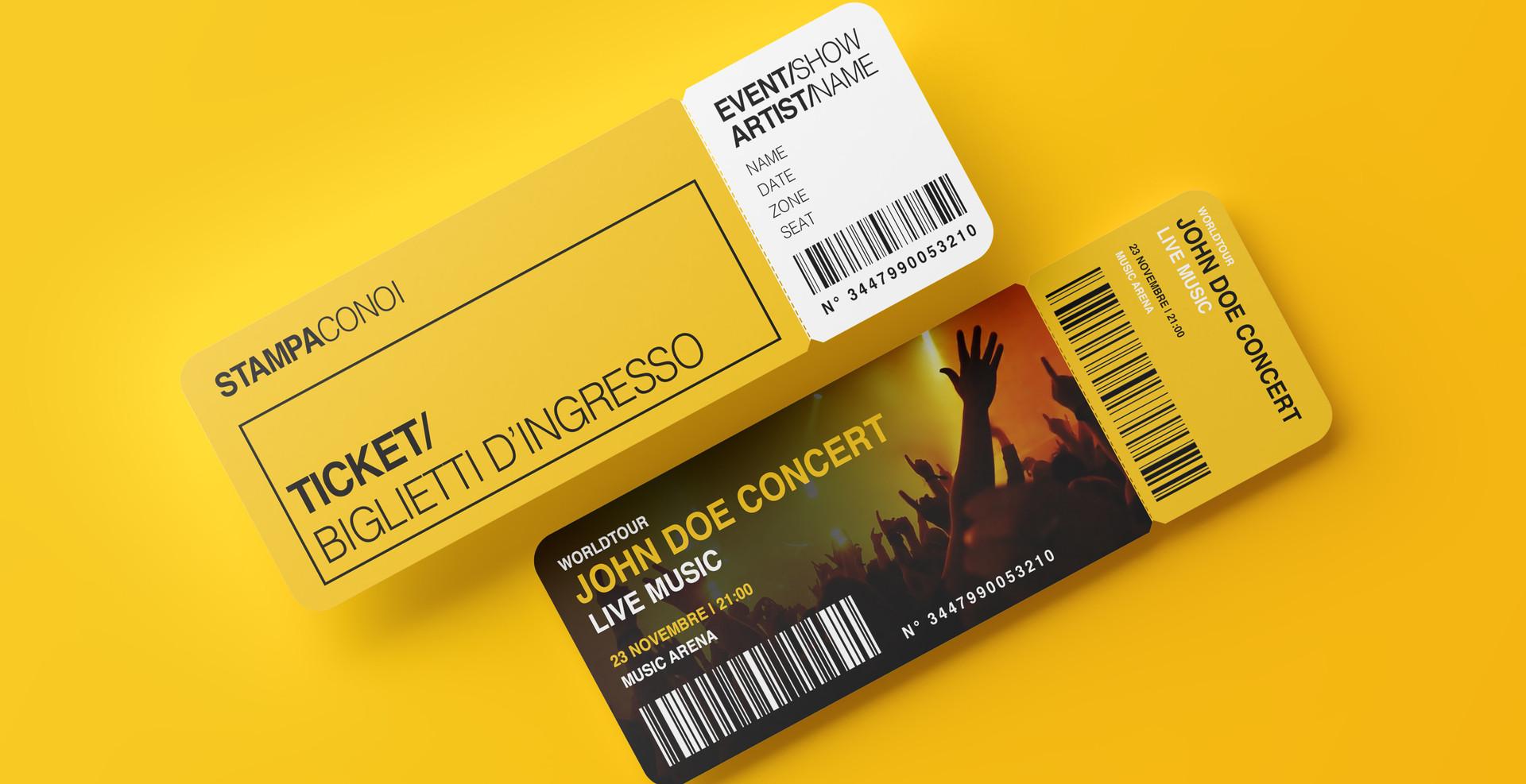 Biglietti d'ingresso