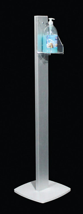 Colonna US HYGEN con tasca profilo rettangolare 10 cm
