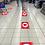 Thumbnail: Multipack Assortito Adesivi Distanza di Sicurezza - aspetta qui