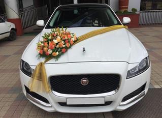 Jaguar XF Wedding Car Rental in Kochi