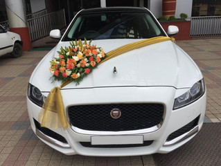 Jaguar XF Wedding Car Rental in Kochi