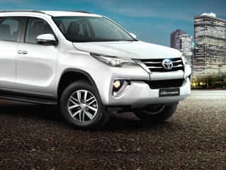 Toyota Fortuner Rental in Trivandrum