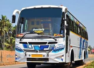 Tourist Bus Rental in Trivandrum