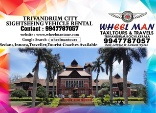 Trivandrum Sightseeing Vehicles Available