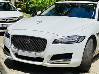 Jaguar XF Wedding Car Rental in Trivandum