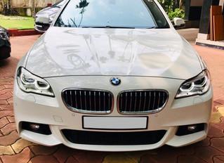 BMW 5 Series Wedding Car Trivandrum