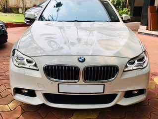 BMW 5 Series Wedding Car Trivandrum