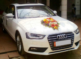 Audi A4 Wedding Car Rental in Trivandrum
