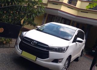 Innova Crysta Taxi Service in Kochi