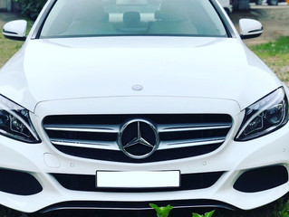 Wedding Car Benz Rental